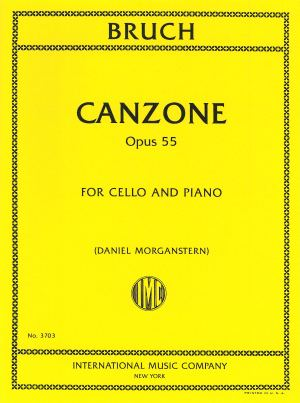Bruch Canzone, Opus 55