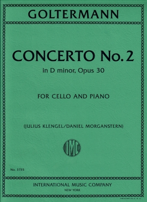 Goltermann Concerto No. 2 in D minor, Op. 30