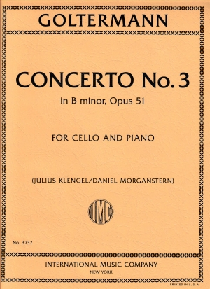 Goltermann Concerto No. 3 in B minor, Op. 51
