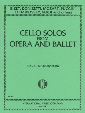 Cello Solos from Opera and Ballet